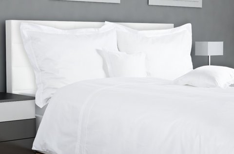 Hófehér, 7 részes pamut ágynemű garnitúra