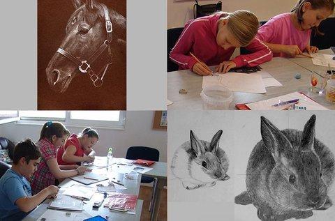 Jobb agyféltekés rajzolás Szentendrén gyerekeknek
