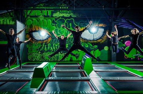 Belépő a Superfly Air Sports trambulinparkba