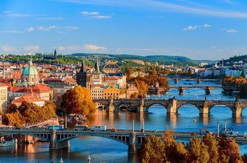 Családi látogatás Prágában egész évben
