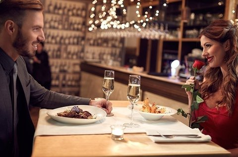 Tökéletes randi 2 főnek romantikus vacsorával