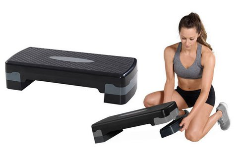 Csúszásbiztos step pad otthoni edzéshez