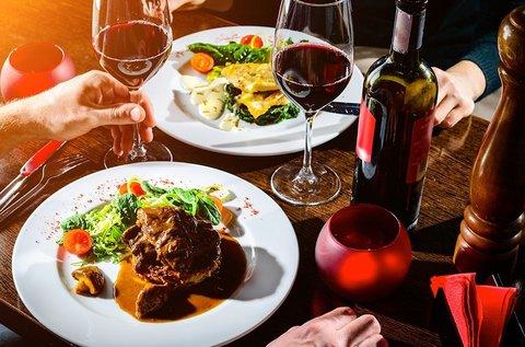 Romantikus 3 fogásos ebéd vagy vacsora 2 főnek