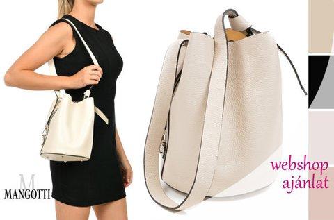 Mangotti Gala minimalista vonalú bőrtáska