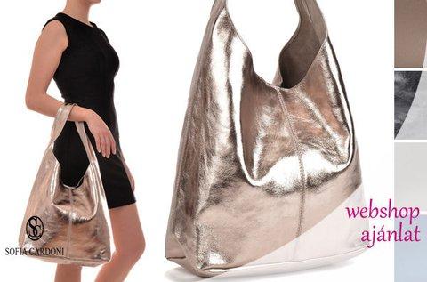 Sofia Cardoni Nicci shopper bag fazonú bőrtáska