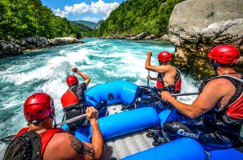 Rafting vagy extreme kanyoning Szlovéniában