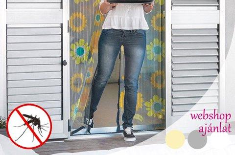 Mágneses szúnyogháló függöny ajtóra, ablakra