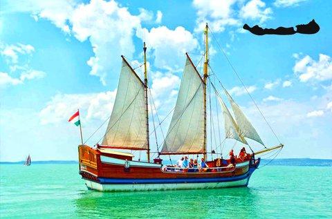 Választható hajós program a Balatonon 1 fő részére