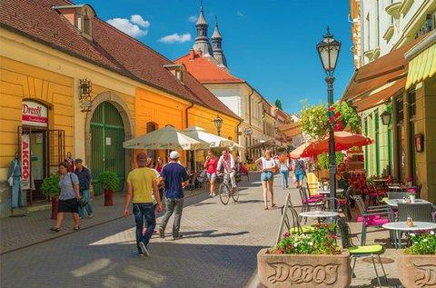 Pihentető napok Eger barokk belvárosában