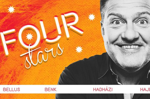 Four Stars stand up comedy est a Dumaszínházban