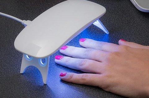 Mini UV lámpa körömlakkozáshoz