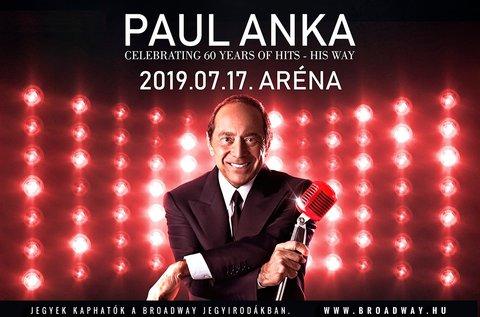 Paul Anka koncert a Budapest Sportarénában