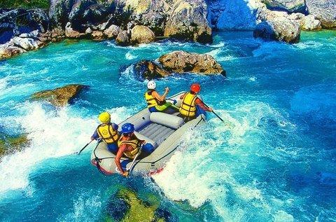 Kalandos rafting hétvége teljes ellátással Boszniában