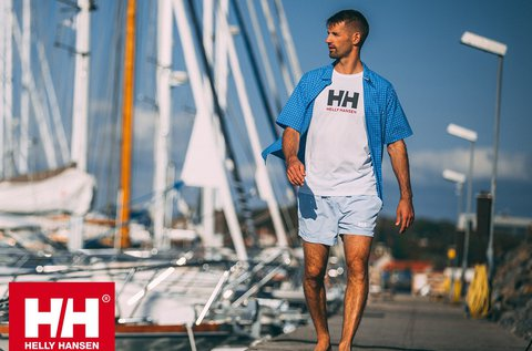 Helly Hansen Fjord QD SS rövid ujjú férfi ing
