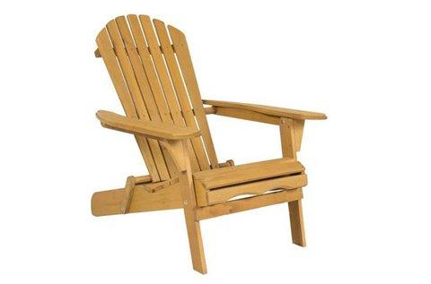 Klasszikus stílusú kerti szék fa szerkezettel