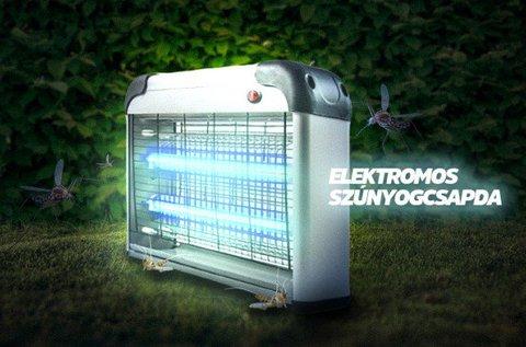 Elektromos rovarcsapda LED UV fénnyel