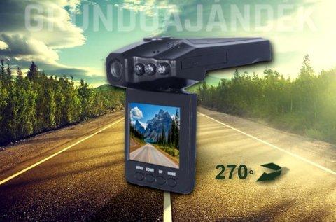 HD CarCam eseményrögzítő autós fedélzeti kamera