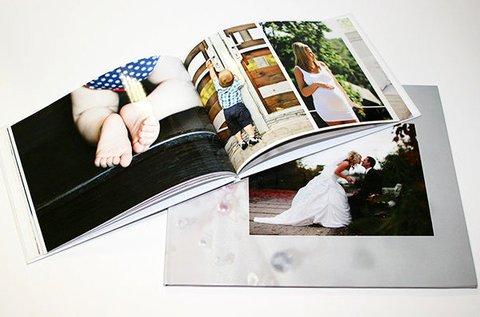 88 oldalas, keményborítós fotókönyv készítése