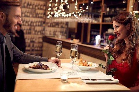 Tökéletes randi 2 fő részére romantikus vacsorával