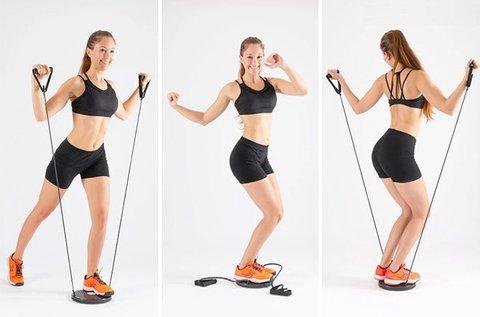 Cardio Twister otthoni edzőgép expanderekkel