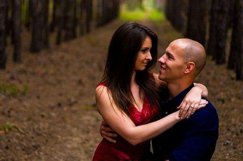 2 órás romantikus fotózás pároknak