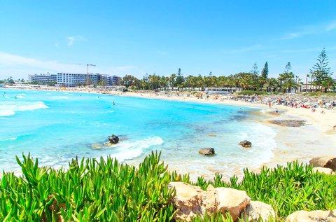 6 napos üdülés Ciprus homokos tengerpartján