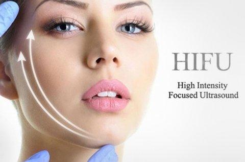 Feszes arcbőr szike nélkül HIFU kezeléssel