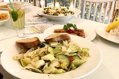 Vegán ebéd vagy vacsora 2 fő részére a belvárosban