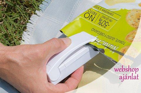 Mini műanyag fóliahegesztő mágneses felülettel