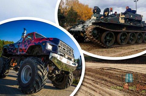 Tank és Monster Truck BigFoot vezetés Gyálon
