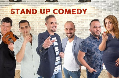 Stand up comedy est belépő snack vacsorával