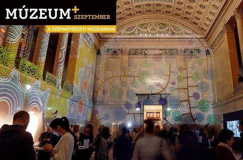 Múzeum+ Szeptember belépő a Szépművészetibe