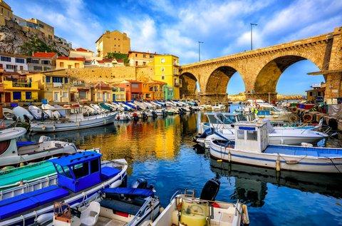 4 napos téli városlátogatás Marseille-ben repülővel