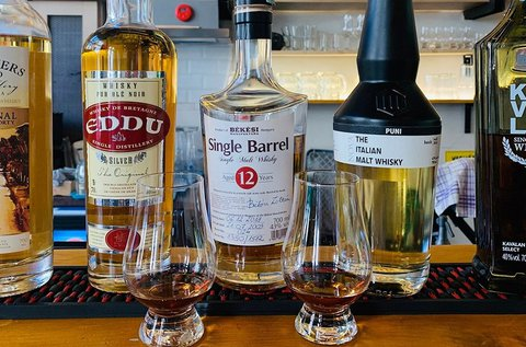 Whisky élmény 5x2 cl különleges ital kóstolásával