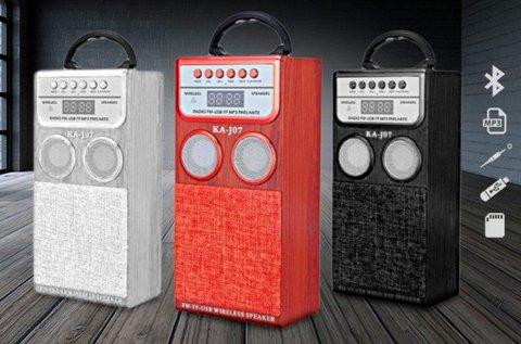 ProSound Bluetooth hangszóró FM rádióval
