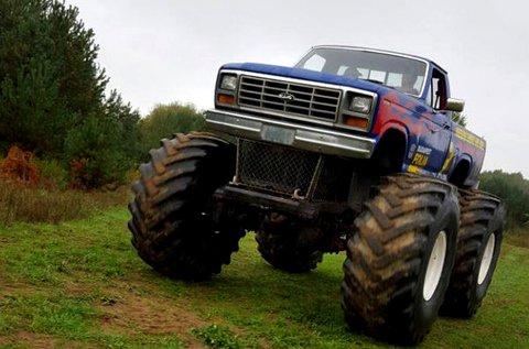 3 körös Monster Truck vezetés Veresegyházon