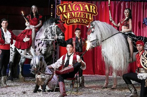 Belépők a Magyar Nemzeti Cirkusz gálaműsorára