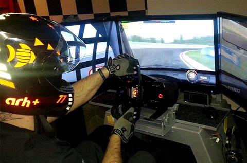 1 órás autóverseny szimulátorozás 2 fő részére