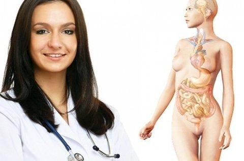 Teljes emésztőrendszeri szűrés 26 ponton
