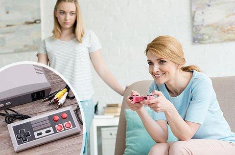 Retró játék konzol 620 db beépített játékkal