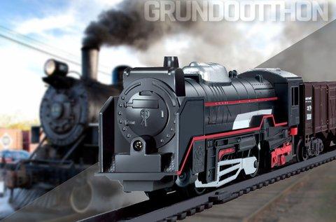 Rail King kisvasút élethű hanghatással