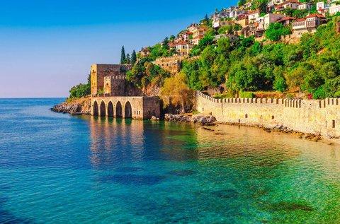8 napos körutazás Törökországban repülővel