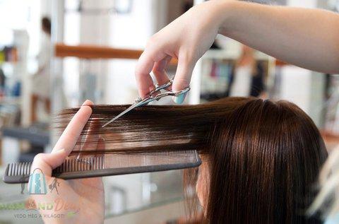 Női hajvágás mosással, szárítással, minden hosszra