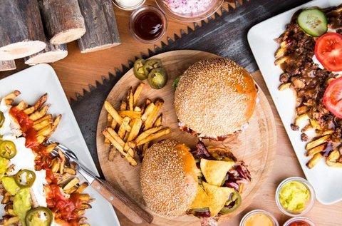 Kanadai street food finomságok 1 fő részére