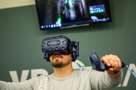 1 órás VR élmény 1 főnek 50 választható játékkal