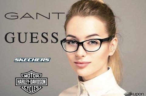 Egyfókuszú, dioptriás szemüveg márkás kerettel
