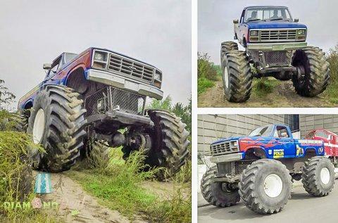 Monster Truck BigFoot élményvezetés 3 körön át