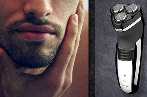 Gemei körkéses elektromos borotva férfiaknak