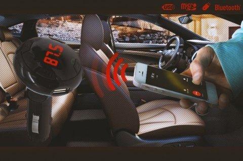 CARQ8 Bluetooth telefontöltő és transzmitter