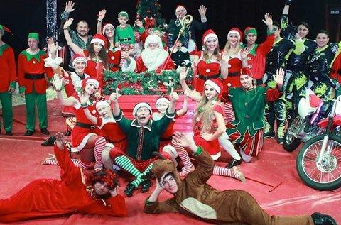 Jegyek az Eötvös Cirkusz Karácsonyi Showműsorára